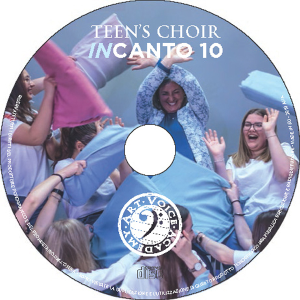 Incanto 10 il cd del Teen's Choir