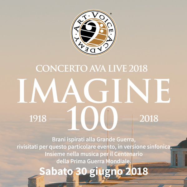 Concerto AVA Live 2018 - IMAGINE 100 a Cima Grappa