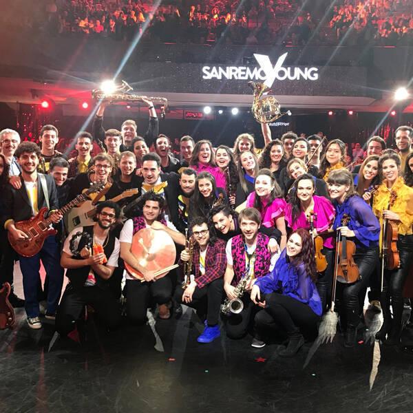 Le voci di Art Voice Academy a Sanremo Young
