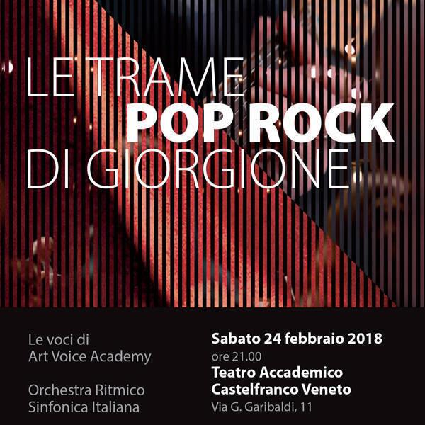 Le trame pop rock di Giorgione